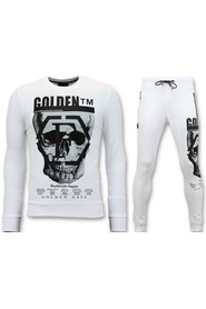 Tracksuit with Print - Blank Skull