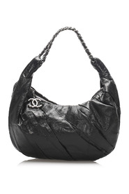 Lambskin Leather Hobo Bag