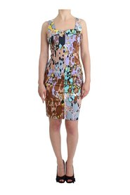 Printed pencil dress