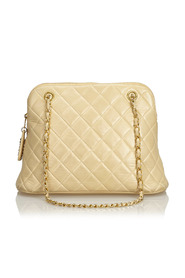 Quilted Caviar Chain Shoulder Bag