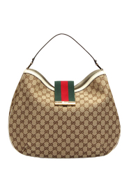 Pre-owned GG Canvas New Ladies Shoulder Bag