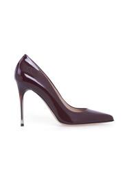Decolletè in vernice con tacco galvanizzato degradè shoes