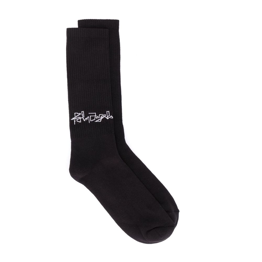 Kleine kant Desert Logo Socks Palm Angels