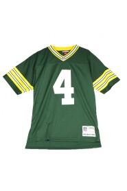 american football jersey man green bay packers 1996 - brett favre no 4