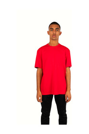 T-shirt logo rouge - Taille: L