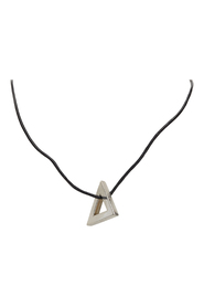 Metal Triangle Necklace