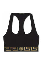 Greca Border Sports Bra
