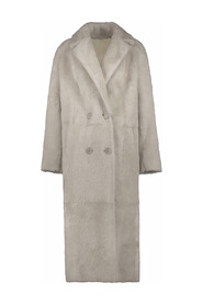 AMORE LAMMY COAT LIGHT COLOUR