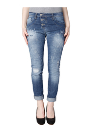 P78 baggy jeans Please/blauw