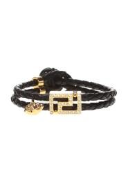 Double-wrap braided bracelet