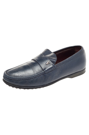 Pre-owned Leather Slip On Loafers