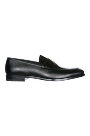 Leather loafers moccasins