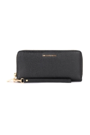 Continental model wristlet grained leather