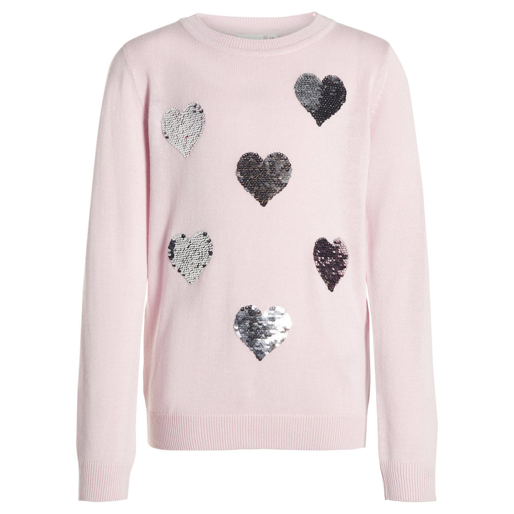 Knitted Pullover flip sequin