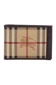 Haymarket Check Canvas Wallet
