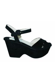 Pre-owned Suede Wedges