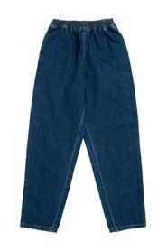 Jeans with Web side bands detail