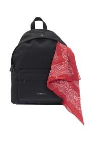 Backpack with bandana