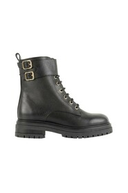 Ellie grained leather boots