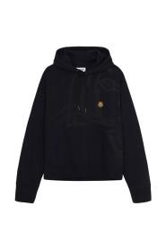 hoodie à logo
