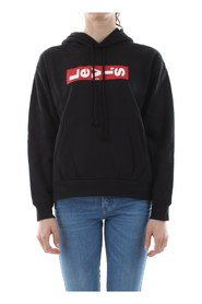 LEVIS 69639 GRAPHIC UNBASIC SWEATER Women BLACK