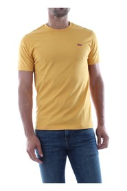 LEVIS 17164 PATCH TEE T SHIRT AND TANK Men YELLOW
