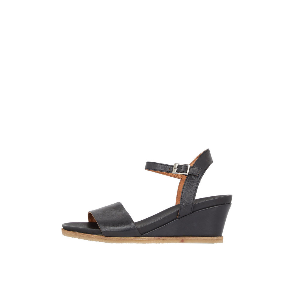 Sandals Leather Wedge