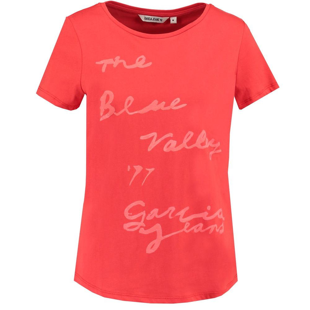 Garcia Jeans Top Blue Valley - Tomato red