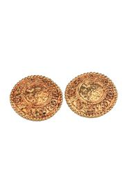Round Clip On EARRINGS