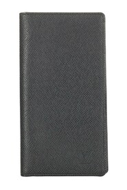 Pre-owned Taiga Brazza Wallet Leather