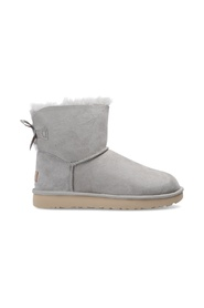 'W Mini Bailey Bow II' suede snow boots