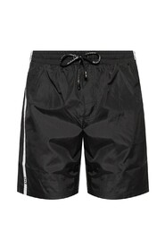 Swim shorts with taping