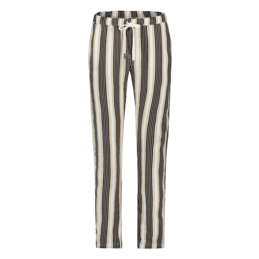 TROUSER STRIPE BLACK/HAVANA
