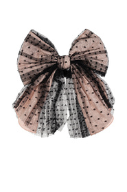 Hair tie with bow