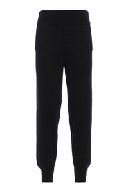 Lurex knitted trousers