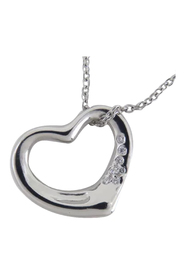 Elsa Peretti Open Heart Pendant Necklace