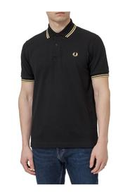 Polo Shirt with Contrasting Details