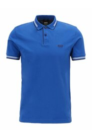 Slim-fit polo shirt in stretch cotton with Paul details 50332503