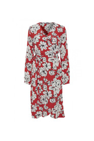 BYGABBY FLOWER WRAP DRESS