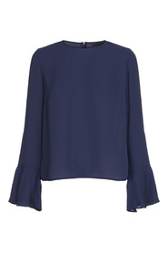 dawn blouse navy 2nd day