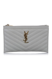 Monogram Bill Leather Pouch