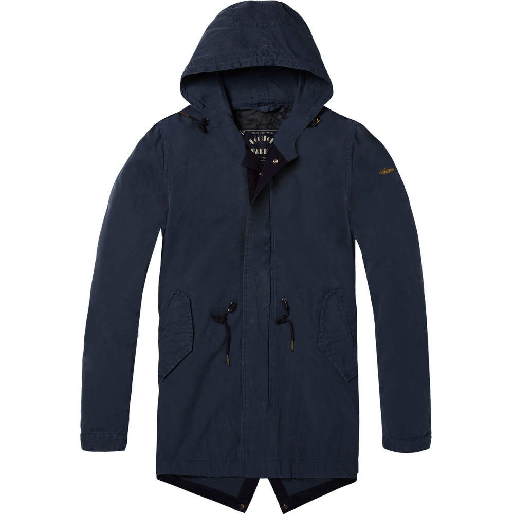 Scotch & Soda SUMMER - Parkas - blå