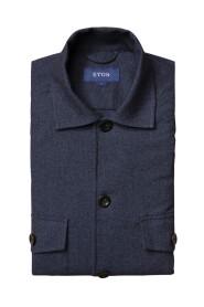 Cotton Wool Cashmere Overshirt