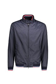Bomber jacket with detachable collar