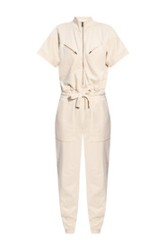 Kayla short-sleeved jumpsuit