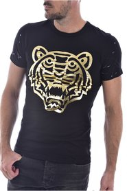 Tee shirt impression tigre