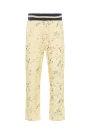 Trousers floral print viscose