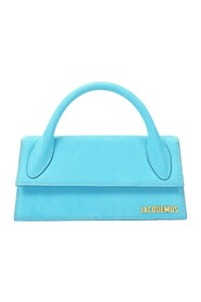 Le Chiquito Long Bag in Turquoise Leather