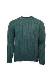 Knitted C-neck