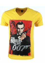 T-shirt - James Bond From Russia 007 Print